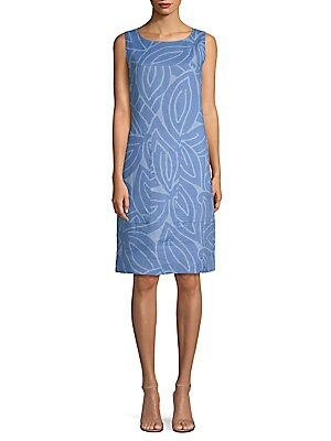 ee583c20ba MICHAEL Michael Kors - Quincy Lace-Up Linen Dress - saks.com
