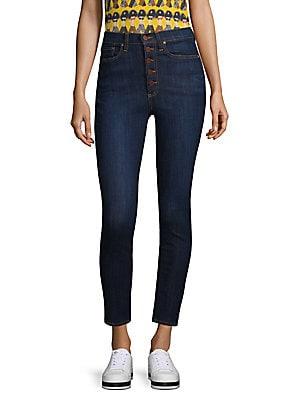 c37e2655669 Alice + Olivia Jeans - Gorgeous Susy Strapless Denim Jumpsuit - saks.com