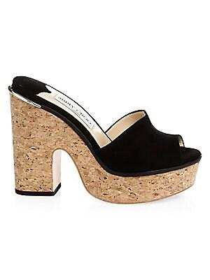 595c3c74eb84 Jimmy Choo - Dalina Braided Leather Mesh Mule Sandals - saks.com