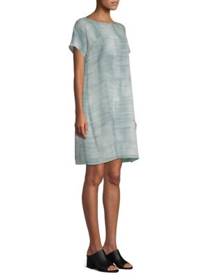Silk Tee Dress by Eileen Fisher