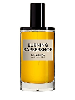 Image of A fire broke out in the Curling Bros. barbershop in Westlake, N.Y. in 1891. All the shaving tonics with their spearmint, lime, vanilla & lavender burned. A charred bottle was found half-full. It smelled like this. Made in USA. Fragrances - Emerging Brands