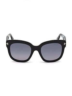 bb02340690294 Tom Ford - 50MM Beatrix Square Sunglasses - saks.com