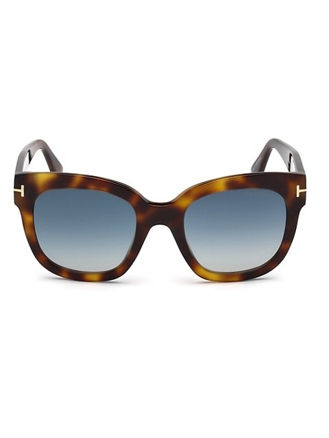 50MM Beatrix Square Sunglasses