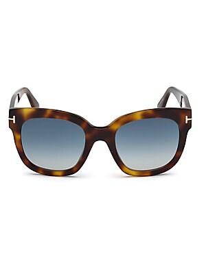 be8dc445ab Tom Ford - Jasmine 53MM Two Tone Square Sunglasses - saks.com
