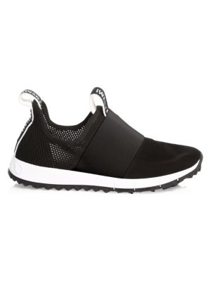 Oakland Logo Textile Sneakers, Black