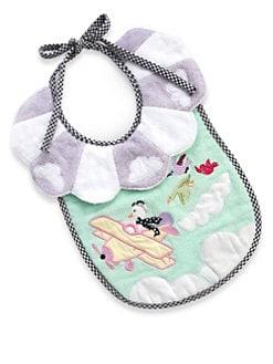 21ec4163aa1a MacKenzie-Childs - Take Flight Toddler Bib