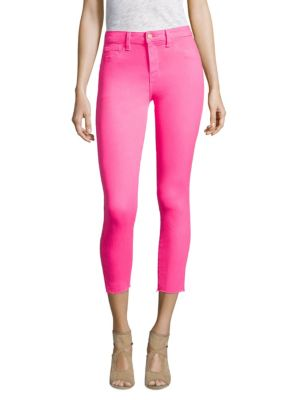 Margot High-Rise Ankle Skinny Jeans, Flamingo