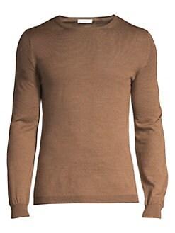 a57803d61 Boglioli. Wool Crewneck Sweater