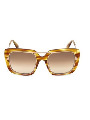 Marissa 52Mm Sunglasses - Light Brown/ Gradient Brown in Honey from TOM FORD