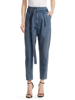 Pablo High Waisted Jeans, Middle Grey Denim