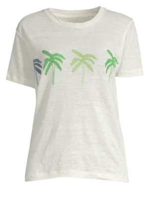BANNER DAY Palm Tree Tee in Bone