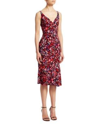 Yirma Floral Sleeveless Dress by Elie Tahari