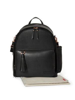 SKIP HOP Greenwich Diaper Bag in Black