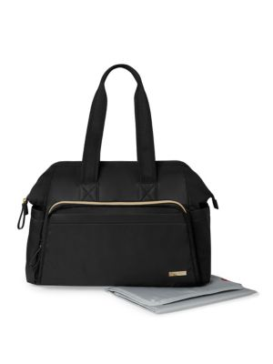 SKIP HOP Mainframe Diaper Bag in Black