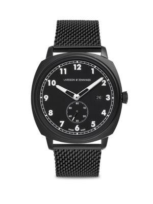 LARSSON & JENNINGS Meridian Black Chain Strap Watch