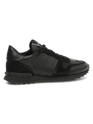 guetter mignon pas cher bonne vente Noir Rockrunner Camouflage Sneakers