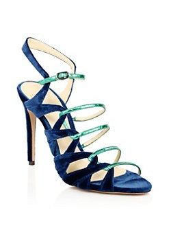 V4D7S6M5 Women Blue royal Blue White Calena Royal Blue white Womens Open Toe Sandals New Listing