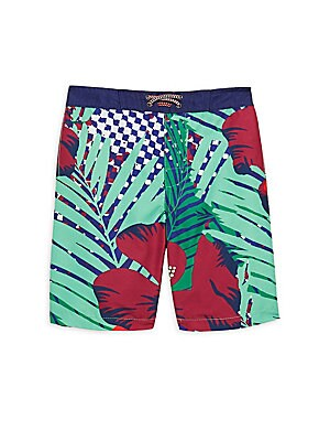 COOA Pear Pattern Mens Quick Dry Beach Board Shorts Swim Trunk
