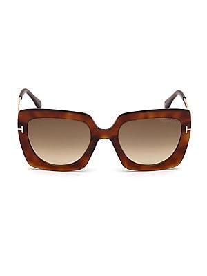 b897d08e760 Tom Ford - Gianna 54MM Cat Eye Tortoise Sunglasses - saks.com