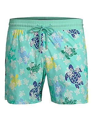 972864b49def3 Vilebrequin - Modernist Paradise Turtle Dance Swim Trunks