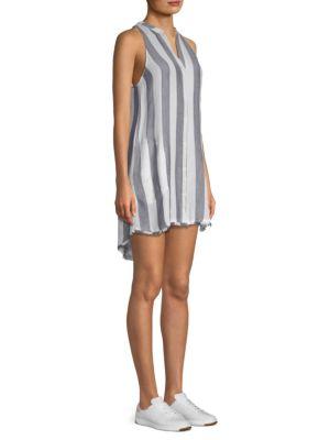 Bella Dahl Striped Button-Front Dress