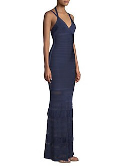 423f5a33a087 Product image. QUICK VIEW. Herve Leger. Bandage Knit Gown