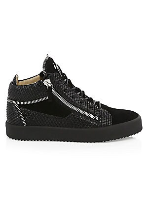 6ec11a0100 Diesel - Quilted Leather High-Top Sneakers - saks.com