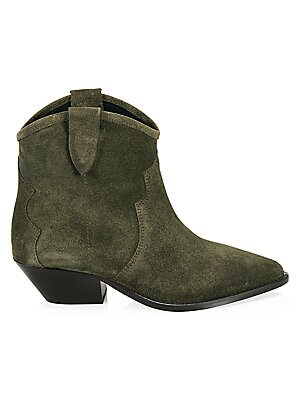ba583251e456 Isabel Marant - Dewina Suede Western Ankle Boots - saks.com
