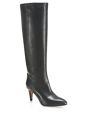 c2ce8623abb Stuart Weitzman - 5050 Leather Over-The-Knee Boots - saks.com