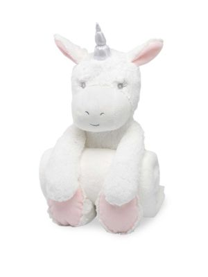 Elegant Baby Baby S Plush Unicorn Huggie Set