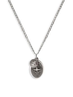 Dove Sterling Silver Pendant Necklace by Miansai