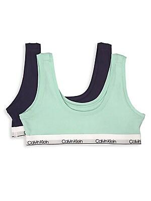 5727b8e7c34 Calvin Klein - Little Girl s   Girl s Racerback Sports Bra - saks.com