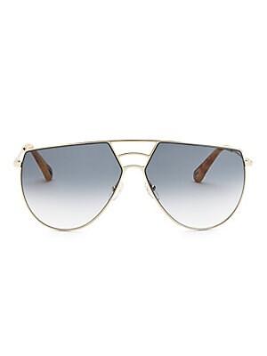 8bdd263421 Gentle Monster - Love Punch 55MM Mirrored Cat Eye Sunglasses - saks.com