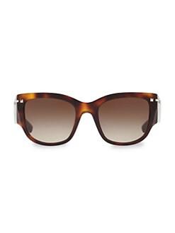 2a0219854132a Valentino. Havana Tortoise Sunglasses