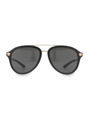 Versace Sunglasses 58MM 4341 Aviator Sunglasses