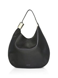 Jimmy Choo Stevie Leather Hobo Bag