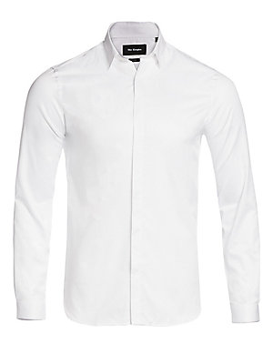 Casual Cotton Button Down Shirt by The Kooples