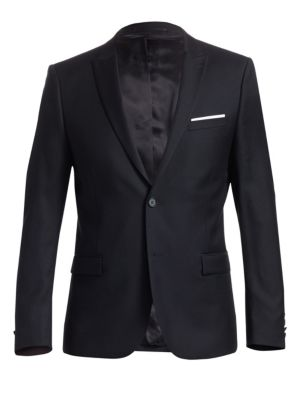The Kooples Slim Fit Wool Sportcoat