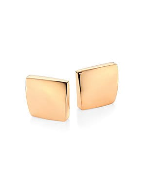 44f15c81a Roberto Coin - 18K Yellow Gold & Diamond Teardrop Hoop Earrings ...