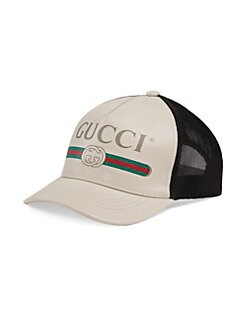 QUICK VIEW. Gucci. Logo Print Baseball Hat 31542b43d8cc