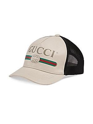 d35fd3c9d0c Gucci - Logo Print Baseball Hat