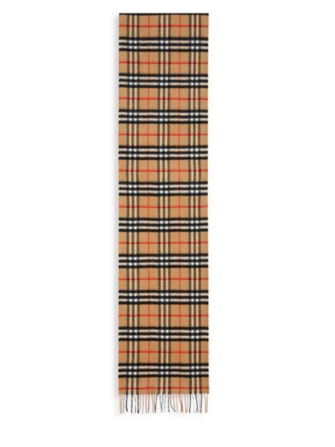 Burberry Vintage Check Cashmere | SaksFifthAvenue
