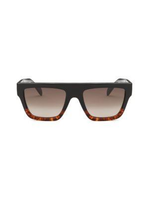 50 Mm Rectangular Sunglasses by Céline