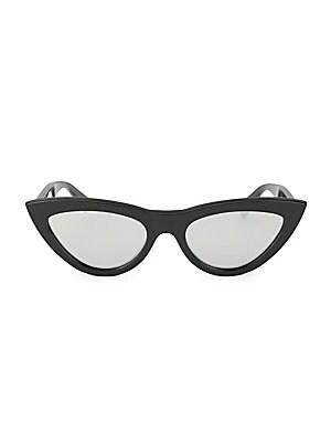 2df107ebb74 Céline - Sculpted Cat Eye Sunglasses - saks.com