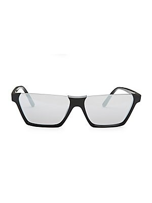 286a3d16693 CELINE - 60MM Semi-Rimless Rectangular Sunglasses