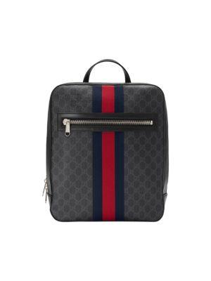 026d2bea4b3 Gucci - GG Signature Web Drawstring Backpack - saks.com