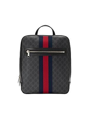 eb9b23d35438 Gucci - GG Supreme Web Backpack - saks.com