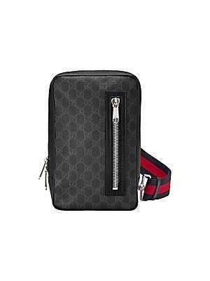 7864dc1404f5 Gucci - GG Supreme Sling Backpack - saks.com