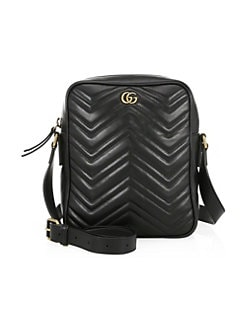 Gucci. GG Marmont Leather Shoulder Bag 28992343dcd64