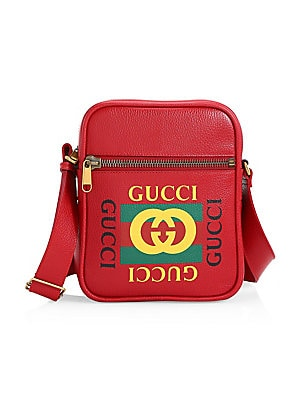 b7ebdcf3de28 Gucci - Gucci Print Messenger Bag - saks.com